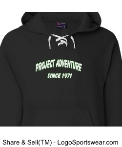 Weatherproof Adult Hooded Hockey Sweatshirt Design Zoom