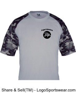 Adult Camo Sport Tee Design Zoom